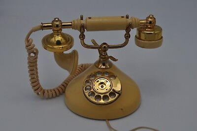 Vintage Auto Electric Cameo PRINCESS Rotary Dial Desk Phone Sweet Talk (Auto Dial Phone)