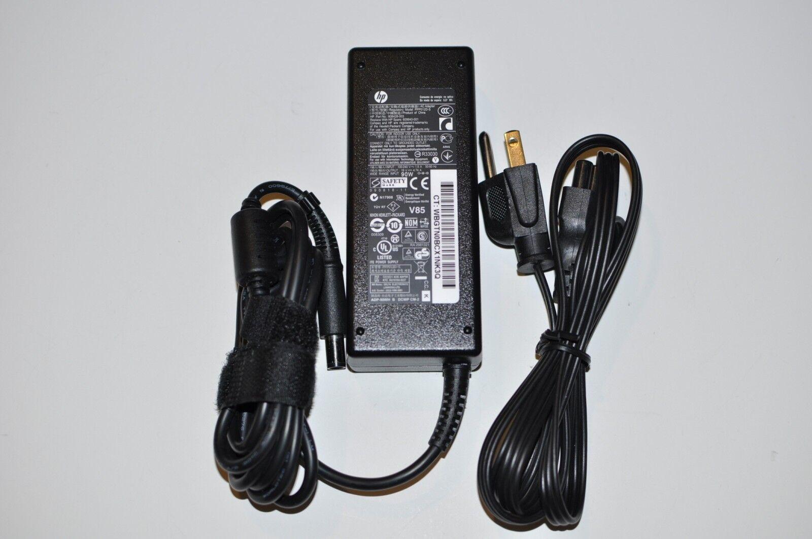 HP Probook 4516s 4535s 4540s 90w Smart Ac Power Adapter 6...