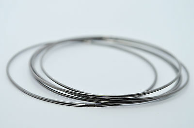 (JULES SMITH Silver Plated Gunmetal Drop It Bangle Bracelet set of 5 $36 NEW)