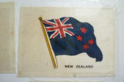 B.D.V. Cigarettes Silk FLAG- NEW ZEALAND (7x4.5 cm)