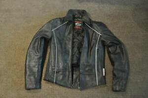 extreme motorcycle leather jacket gear black new armor pad unisex s