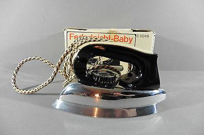 Rowenta Reisebügeleisen Federleicht-Baby E 5049 ca. 60er Jahre