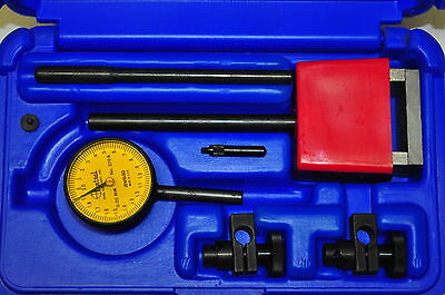 Central 6407 Universal Dial Indicator Test Set 0-5mm R- 0.02mm G Gr Made In Usa