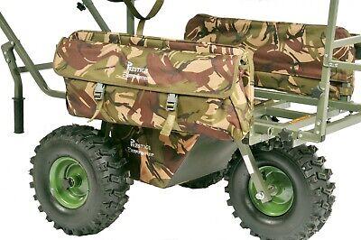 Carp Porter XL SIDE BAGS DPM FOR MK2/ BIG BOY/ TRI PORTER BARROWS - CAMO