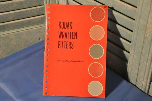 Vintage Collectible Kodak Wratten Filters Publication No. B-3 1957 Camera