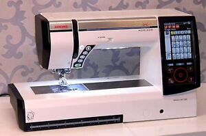 JANOME-HORIZON-MEMORY-CRAFT-12000-SEWING-EMBROIDERY-MACHINE-NEW-COMPLETE