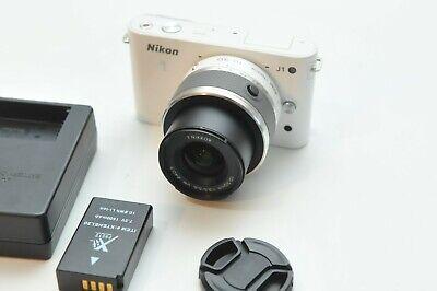 Nikon 1 J1 HD Digital Camera (32089974) with 10-30mm Lens White
