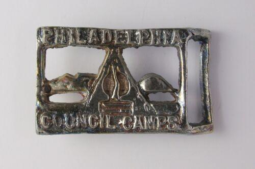 Philadelphia Council Camps Belt Buckle - Cradle of Liberty Council