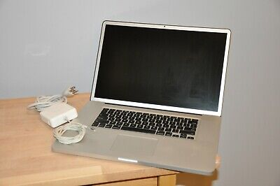 """Apple MacBook Pro 17"""" A1297 2.8GHz Core 2 Duo 480GB SSD + 1TB HDD 8GB Memory"""