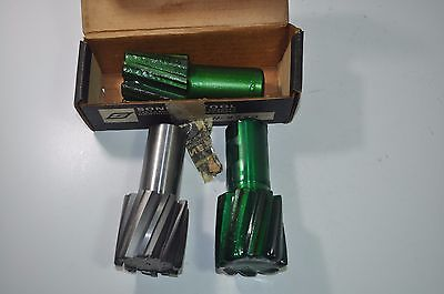 Lot Of 3 Sonnet Tool Milling Cutter End Mills 8 Flute 2 Dia 1-14 Shk Eth-x200