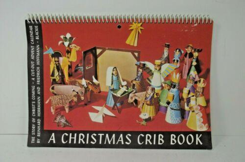 Advent Calendar Cut Out Nativity A Christmas Crib Book 1961