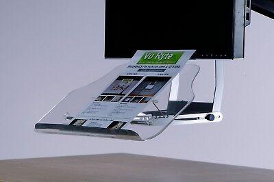 Vu Ryte In Line Document Holder Stand For Monitor Arm Vur 79gr