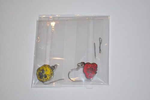 Brand New Hanson Official Pansy and Rose Earrings!