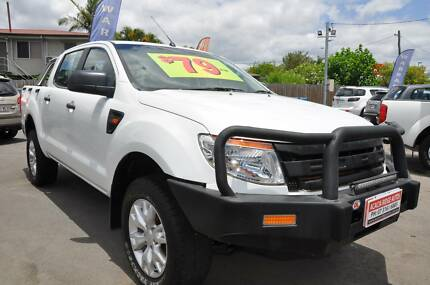 2013 Ford Ranger PX XL Cab Chassis Double Cab 4dr Man 6sp 4x4 3.2 Acacia Ridge Brisbane South West Preview