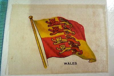 B.D.V. Cigarettes Silk FLAG- WALES FLAG (apx.7x5 cm)