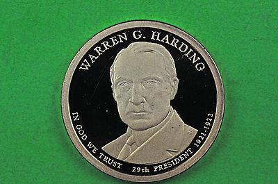 2014-S GEM PROOF  WARREN G HARDING DEEP CAMEO US PRESIDENTIAL ONE DOLLAR