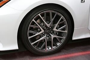 "Set of 4 19"" Inch Lexus RC350 wheels with Michelin A/S3 tires"