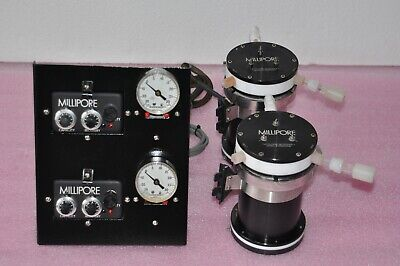 Two 2 Millipore Pump And Controller Model Wcds000f2 And Wcds240l1 See Detai
