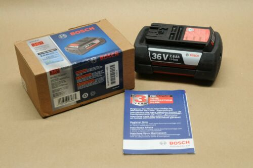 *GENUINE* BOSCH BATTERY BAT 837 36V FAT PACK OEM