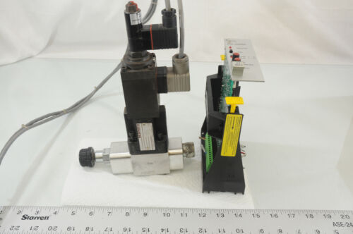 Rexroth Proportional Valve 2FRE 6B-22/A-21/3QRV and CH-32C-11 Controller (CS4.2)