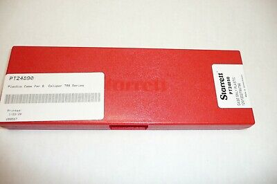 Starrett Pt24890 6 Calipers Plastic Case Only For 798 Series Fast Usps Ship