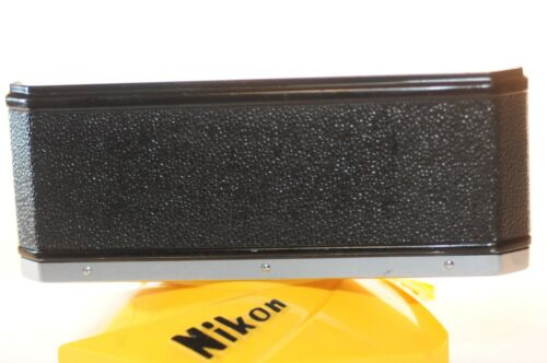 Nikon F back FILM DOOR Chrome ISO 400 replacement part for 35mm film SLR camera