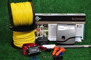 PET SAFE STUBBORN  LARGE DOG FENCE ELECTRIC UNDERGROUND IN-GROUND SYSTEM 1 ACRE
