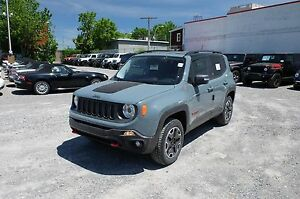 2017 Jeep RENEGADE, REMORQUAGE,  DÉMARREUR TRAILHAWK, GPS, MAGS
