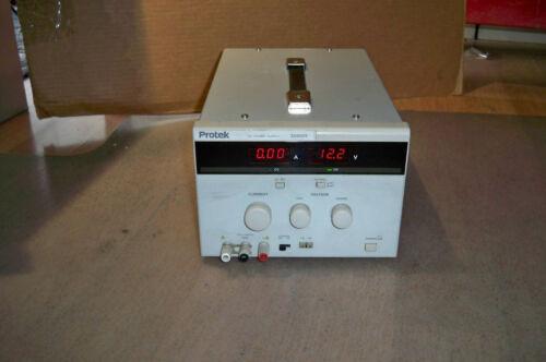 Lab power supply Protek 3060 0-30V /6Amp.Linear PS *tested*