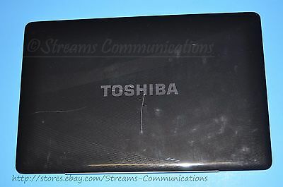 "TOSHIBA Satellite P500 P505 P505D 18.4"" Laptop LCD Back Cover w/ Webcam +Mic for sale  Shipping to India"