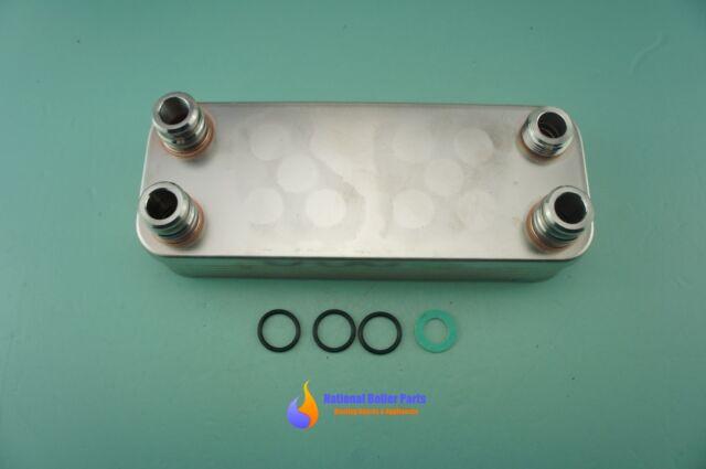 VAILLANT TURBOMAX PLUS 824/2 E VUW 242/2-5 DHW HEAT EXCHANGER (189mm) 065099