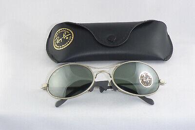 20467d3f8e47b Vintage Ray Ban Orbs Eclipse Silver USA B L G15 Gläser w case