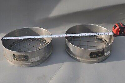 2-12 U. S. A. Standard Testing Sieve 1-12 2 Opening Stainless Steel