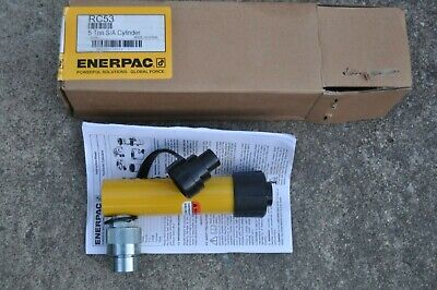 Enerpac Rc53 Hydraulic Cylinder 5 Ton 3 Stroke New In The Box