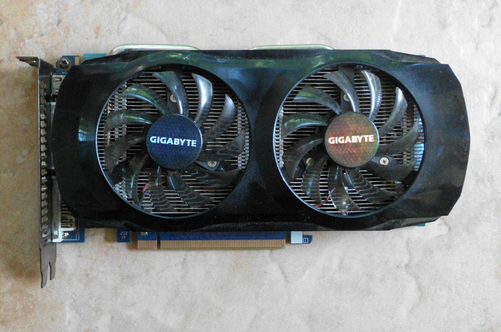 Grafikkarte GIGABYTE GeForce GTX 460 , 1 GB  2 x DVI , mHDMI