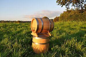 10L OAK WOODEN BARREL CASK KEG WHISKEY,WINE,CIDER,BEER