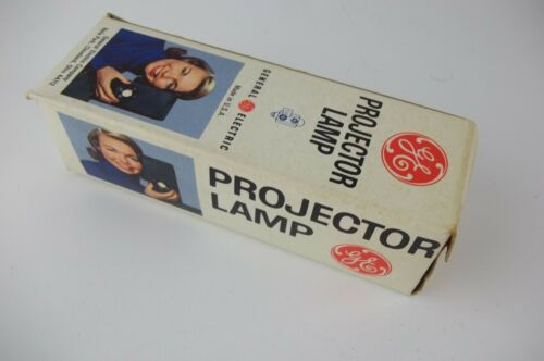 NOS GE Projector Lamp Bulb CDS/CDX 100w 120v Slide Movie Projector