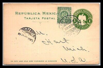 GP GOLDPATH: MEXICO POSTAL CARD 1901 _CV687_P16