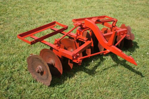 International CUB-F38 Disc Harrow Plow 1pt 1 Point Fast Hitch Farmall IH Disk 5