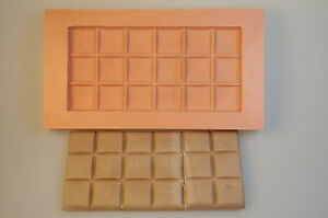 Giessform Silikonform Tafel Schokolade lebensmittelecht