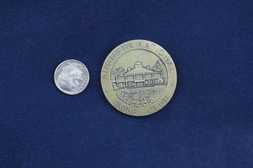 "Rare 1 1/2"" Large Augusta National Masters Medallion Tournament 1934"
