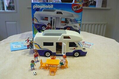 PLAYMOBIL 4859 CAMPERVAN - SUPERB CONDITION COMPLETE WITH INSTRUCTIONS. BOXED
