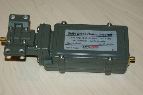 SMW Swedish Microwave Ku Block Downconverter 12.25 -12.75 GHz