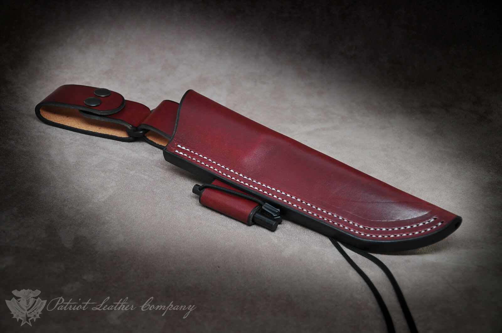 Ka-Bar Becker Knives /'The Intolerable/' Custom Leather Bushcraft Sheath