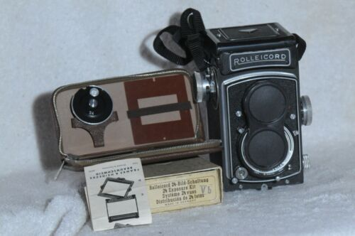 Rolleicord VB Xenar with Cap & 24Exp. Kit