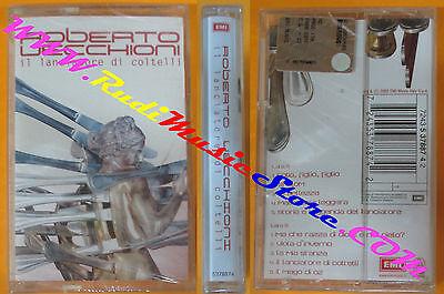 MC ROBERTO VECCHIONI Il lanciatore di coltelli SIGILLATA EMI no cd lp dvd vhs