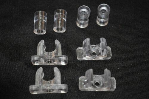 Tenn-Tex False Front Cabinet & Drawer Repair / Replace Clips 4 Pairs / 2 Drawers