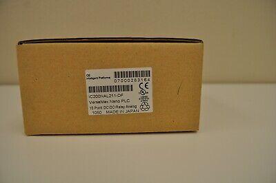 Ge Versamax Nano Plc Ic200nal211-df 10 Pt Dcdcrelay Analog. New Surplus In Box