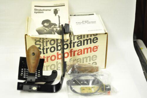 Stroboframe R4b cat.# 300-450 flash bracket. NOS