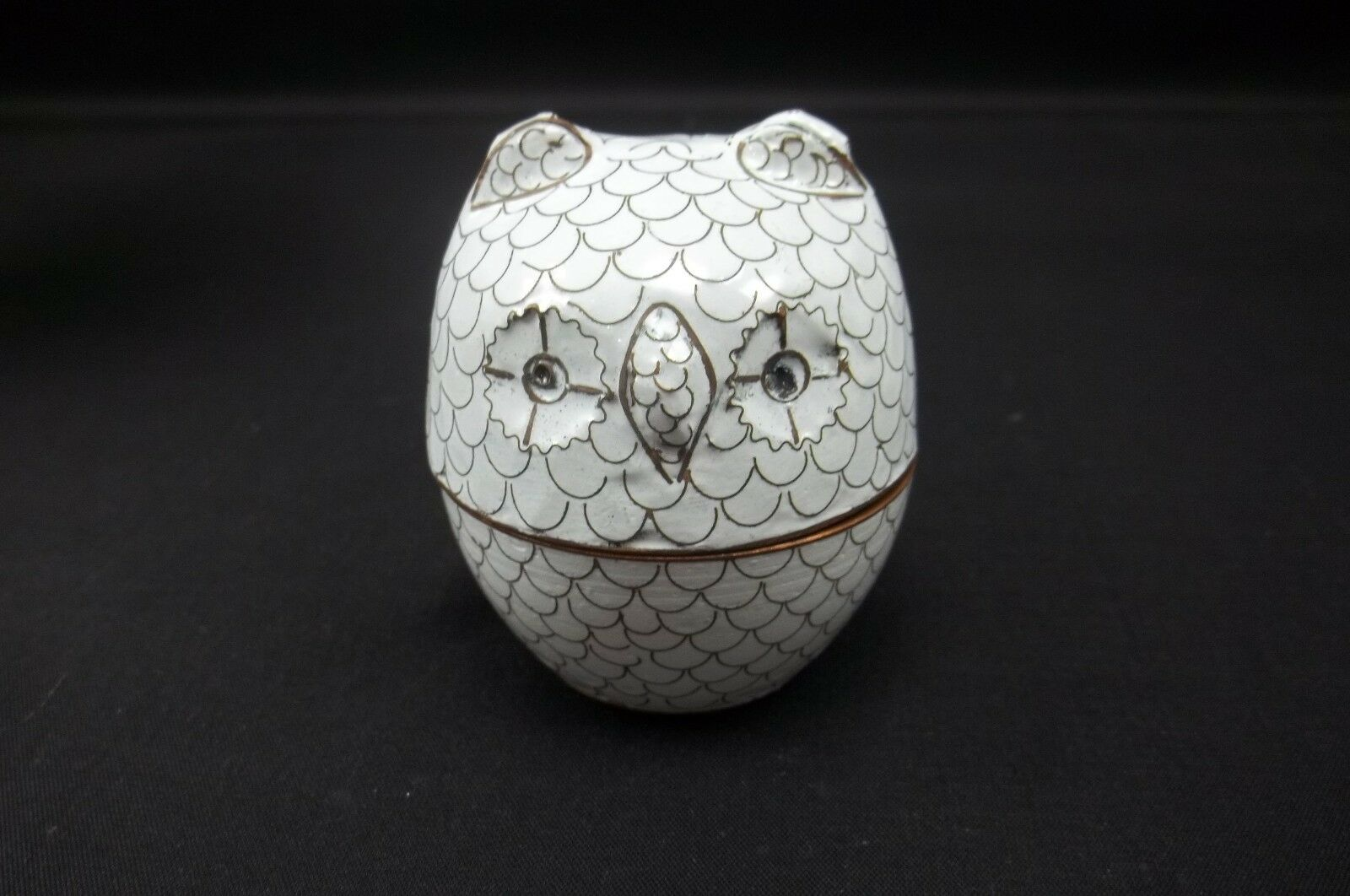 Decorative Boxes Pottery Barn : Pottery barn owl decorative cloisonne ring jewelry box